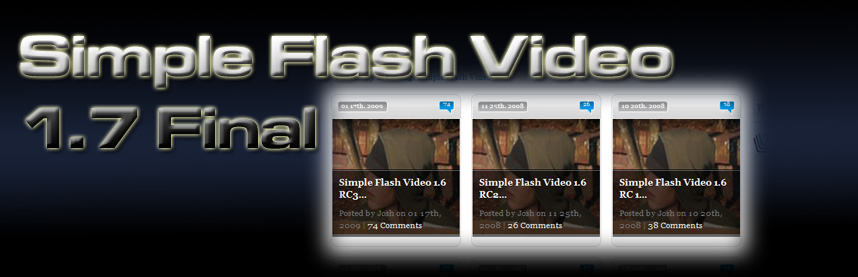 Simple Flash Video 1.7 Final