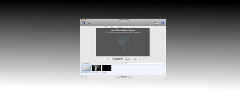 Wirecast Broadcaster